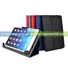 "Leather Material Universal Tablet Belt Flip Leather case for 9"" 10"" tablets cases"