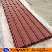 Wholesale Low price corrugated metal siding/color sheet metal siding prices