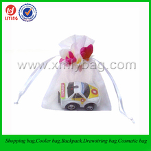 Cheap Organza Birthday Gift Packaging Bag