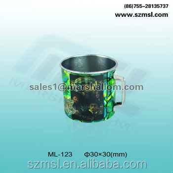 Round Cup Metal Tin Can