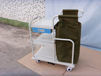 Hospital medical shelving, Injections carts,dental clinic drug shelving with medical waste bags