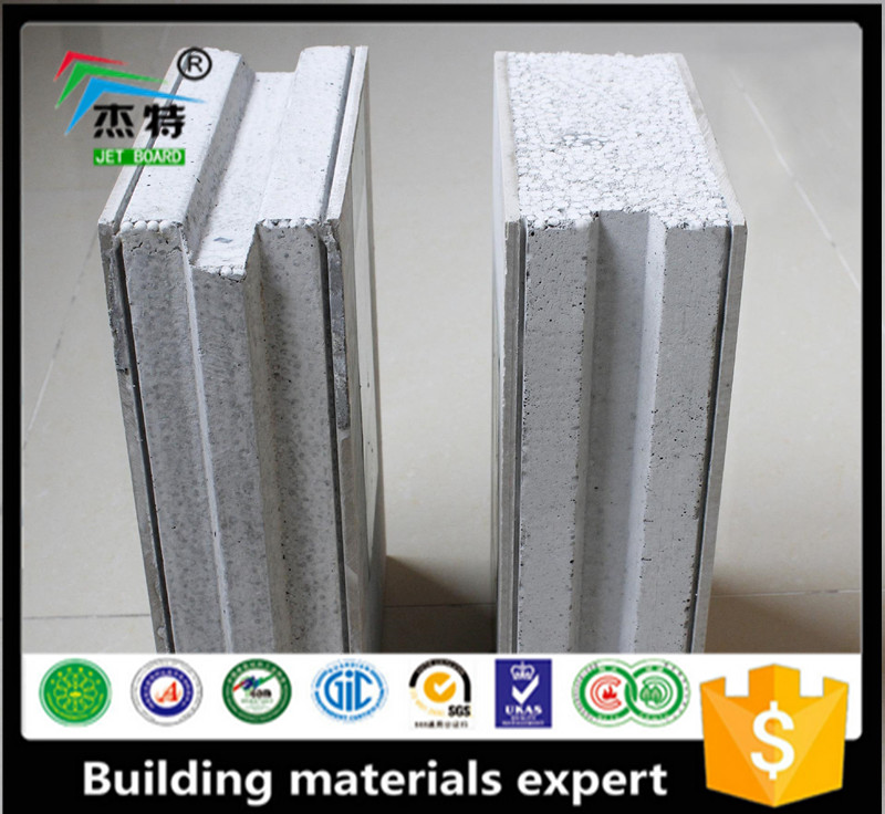 EPS Sandwich clean room panel/roofing and wall decorativepanel/ eps concrete sandwich wall panel