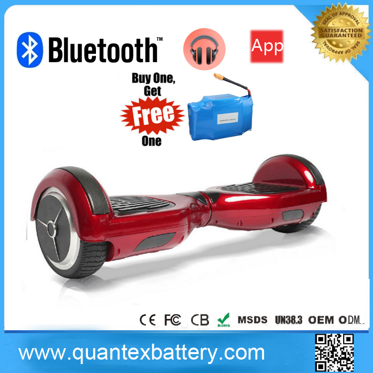 wholesales lowest price smart balance electric hoverboard off road 6.5Inch electric 2wheels scooter with Bluebooth
