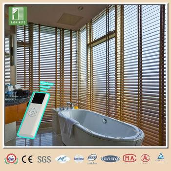 China wholesale motorized venetian blinds lowes buy for Motorized window blinds lowes