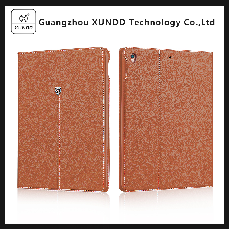 [XUNDD]2017 New Popular Book Style Folio Stand PU Leather Case Cover For iPad Pro 10.5 With Magnetic Clasp Card Slots 2
