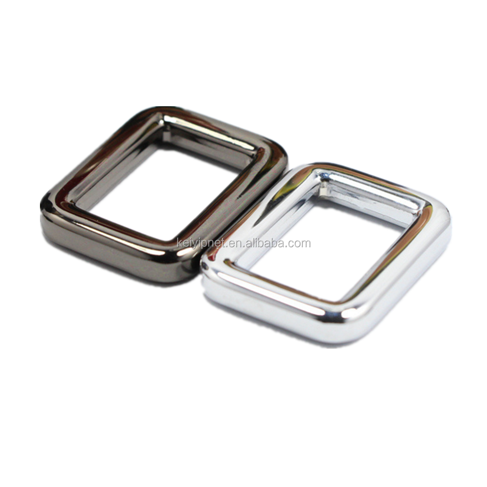 High Quality Metal Bag Square Ring Square Buckle for Handbag Accessories