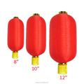 Chinese Cylinder Silk Lanterns for Spring Festival