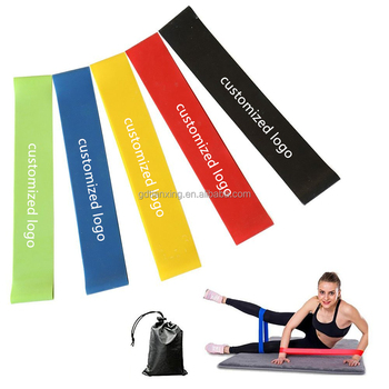 Custom Physical Fitness Resistance Loop Band Bodybuilding Exercise band