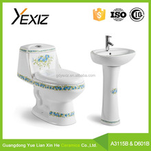 A3115B&D601 western style water saving sanitaryware toilet