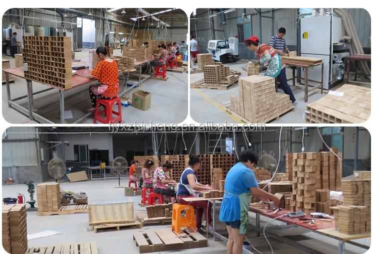 Écologique 2-Tone Bambou Planche à Découper avec Amovible Magnétique Insert