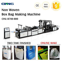 Hyderabad Box bag non woven bag making machine