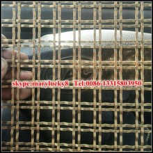 Woven Wire Fabrics For Decoration/Crimped Wire Mesh For Decoration