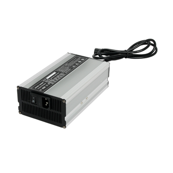 600W Charger 36v 12a Lithium/Lifepo4/LFP 10S 42V EVA Storage car Battery Charger Aluminium case with fan cooling