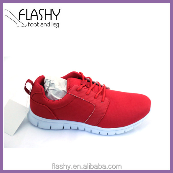 Wholesale red men shoes sports sneaker phylon running shoes mesh