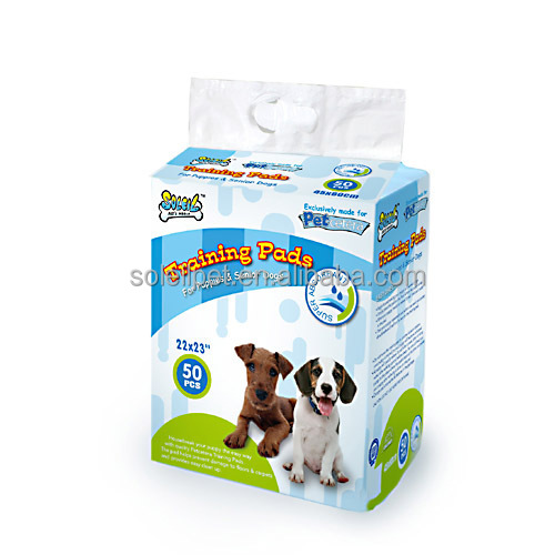 High Quality 50PK Super Absorbment Biodergardable Puppy Training Pad Wholesalers