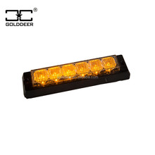 Security Car Strobe Light Emergency Vehicle Grill Lights(GXT-6) auto led under car decorative lights