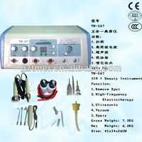 5 in1 high frequency ultrasonic galvanic facial machine