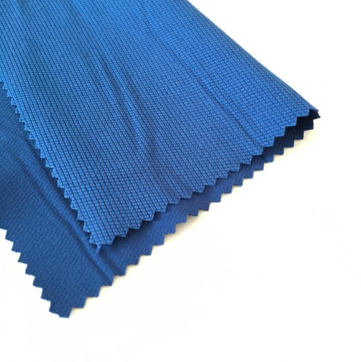 jacquard polyester/spandex breathable waterproof outdoorwear fabric stretch climbing cloth material