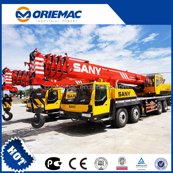 SANY Crane Mobile Crane 50 tons - New Truck Crane SANY STC250 for Sale