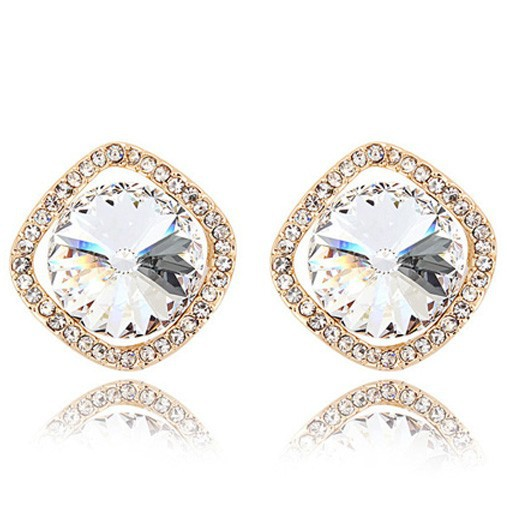 Free Shipping <strong>Fashion</strong> Gorgeous Exquisite Made With Swarovski Element Earring