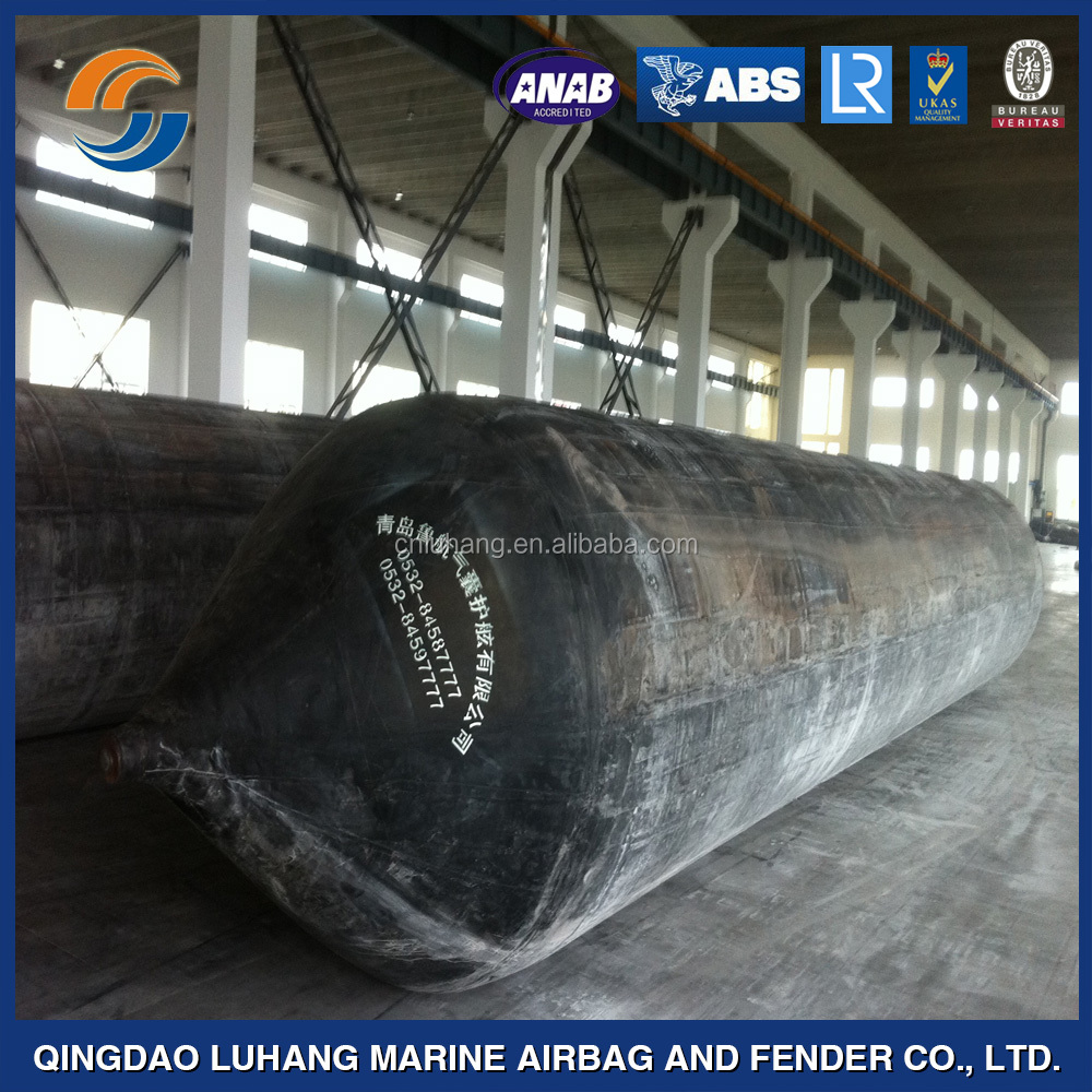 ship salvage lifting launching rubber airbags
