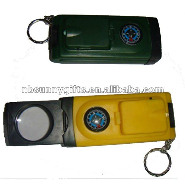 solar LCD keychain no power flashlight lamp