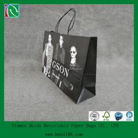 2016 Large Paper Shopping Carry Out Bag