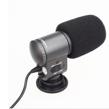 Camera Stereo Microphone SG-109 DV Stereo Microphone for DSLR DV Camera Camcorder 7D 5DII 550D 60D 600D Rebel T3i