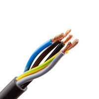 cable copper conductor PVC flexible 5 core power cable