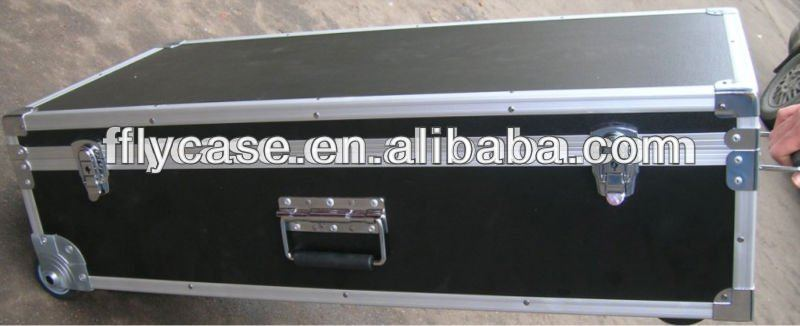 aluminum pilot flight case with storage aluminum cable flight case