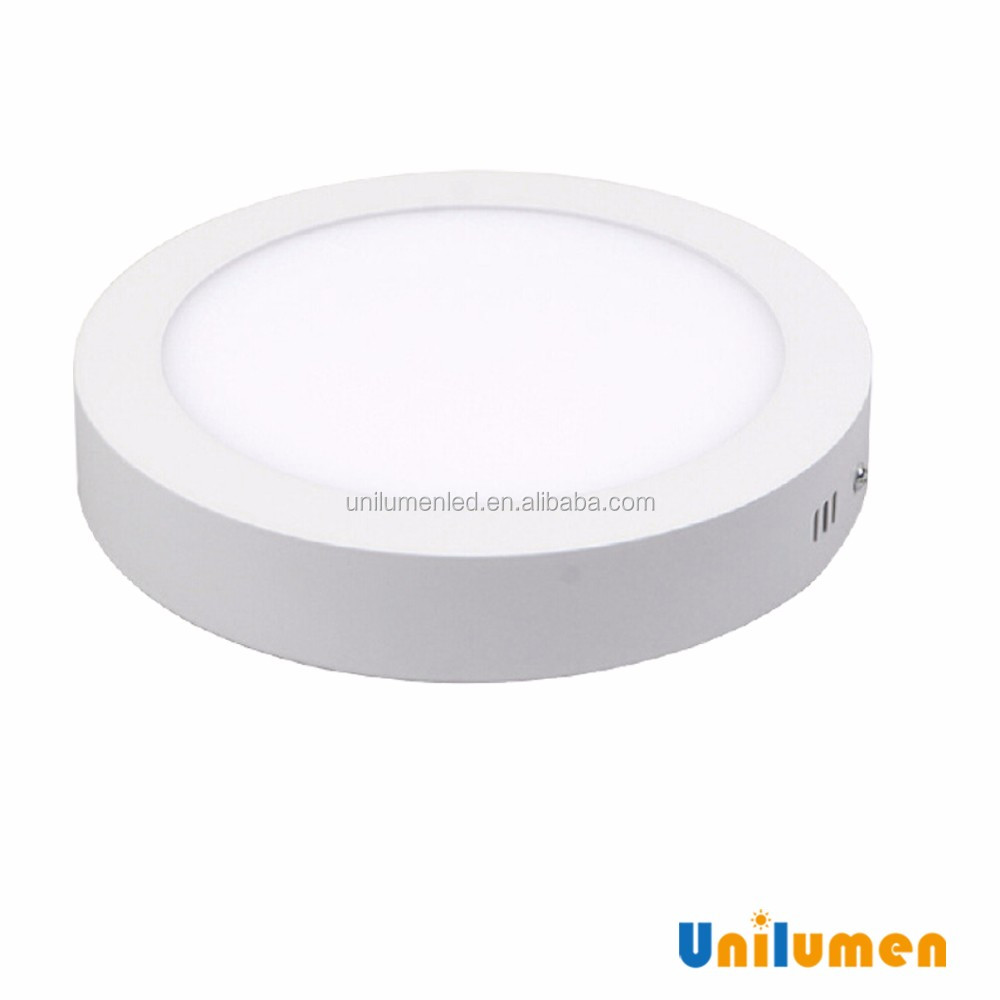 Best price and nice service 12w 170mm 4000K NW led round panel light