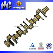 For Komatsu S6D125 engine part crankshaft
