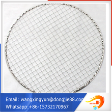 ss 304 wholesale rotproof barbecue wire meshd stainless crimped wire mesh manufacturer