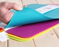 Food Grade Factory Wholesale Colorful Chopping Board 4PCS Plastic Thin Cutting Board Set