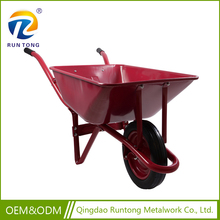 Agricultural Tools and Uses Construction 1 or 2 Metal Wheel Garden Wheelbarrow