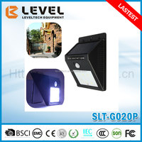 2016 Hot Sale Green Energy 6pcs Super Brightness White LED Outdoor LED Light Solar Motion