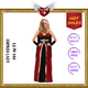 New Sexy Adults Cosplay Dress Halloween Empress Lady Costumes for Sexy Woman