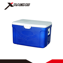 Xracing NMCB0088 Promotion wholesale 50L storage rotational mold camping pinnacle thermo cooler box for cola beer