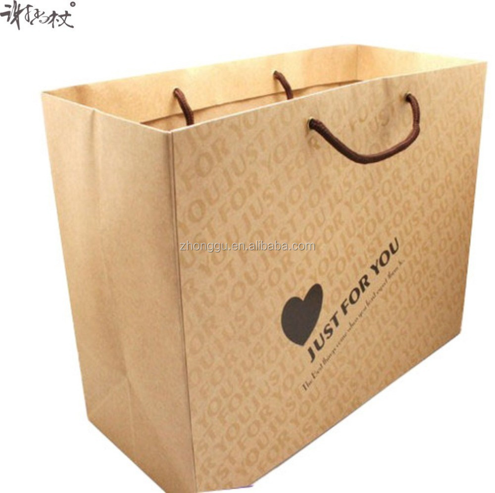 Paper Material and Recyclable Feature kraft paper bag,shopping bag,luxury shopping bag