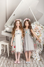 child girls princess party long dresses summer new style frock