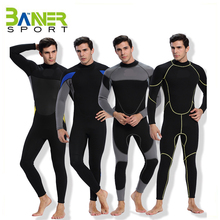 Thickened neoprene diving suit keep warm thermal wetsuits swimming surfing fishing