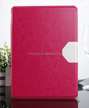For ipad leather case in senior PU