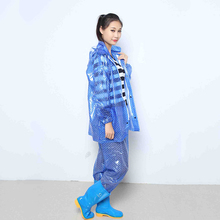 selling as hot-cakes ladies women in plastic branded pvc raincoats