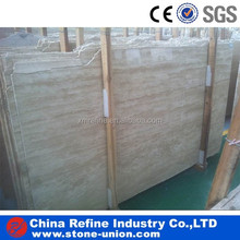 Turkey polished beige travertine marble slab price
