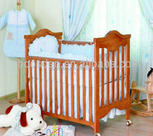 wooden kids single cot child bed BSD-456004