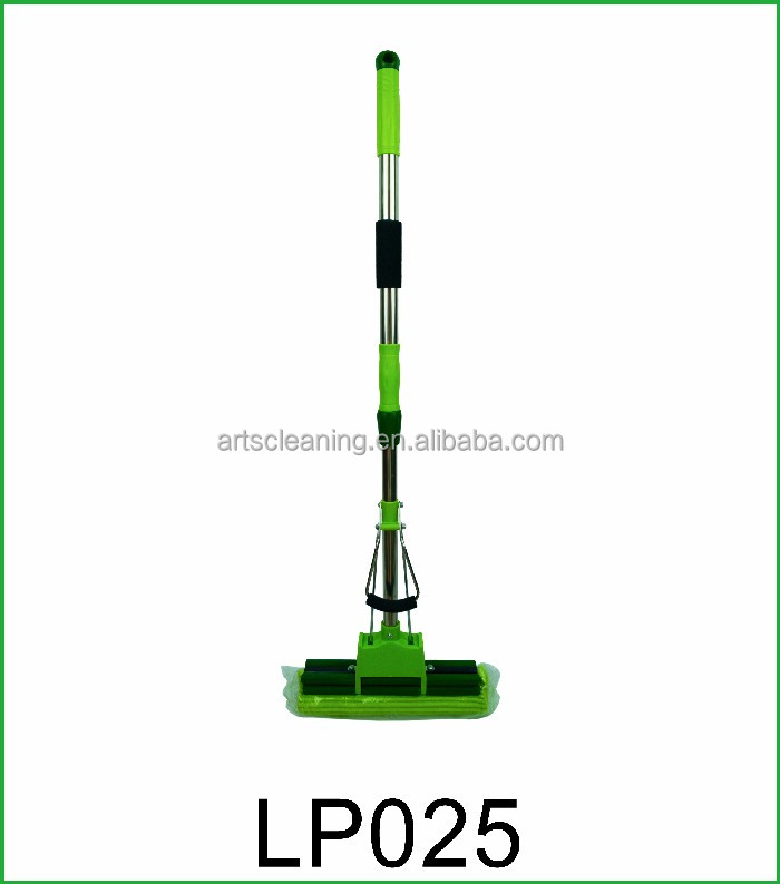 Eco-friendly Double Roller Home Easy Use Durable PVA Sponge Floor Mop