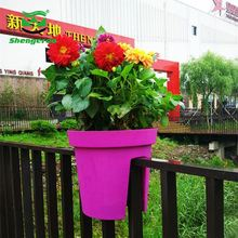 Home & Garden round colorful outdoor garden products smart garden ridge wholesale decorative plastic flower pots