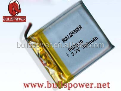 7.4v 3.7volt 300mah round lithium/ li-ion power battery
