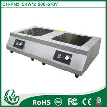 5000w electric cooktop with two hobs