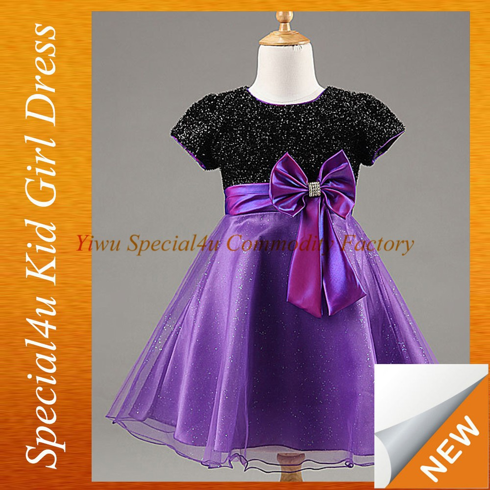 party dresses for girls 4 years purple kids gown picture SFUBD-1068
